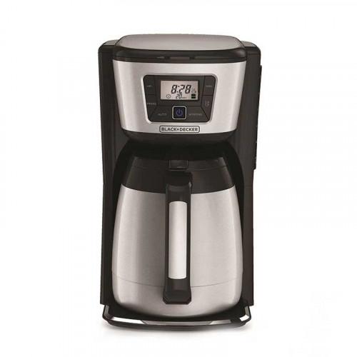 Cafetera térmica de 12 tazas Black+Decker