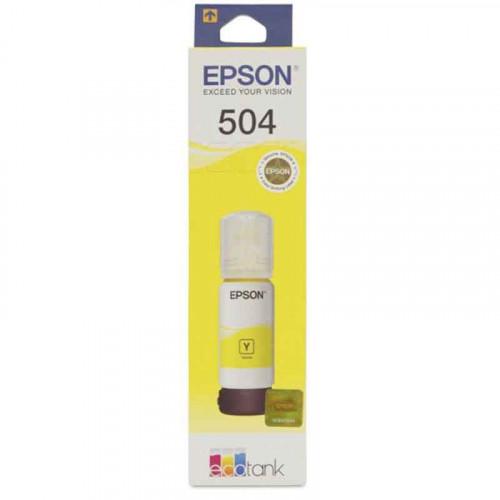 Cartucho de tinta Epson 504 amarillo