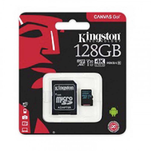 Tarjeta MicroSD Kingston Canvas Go 128GB