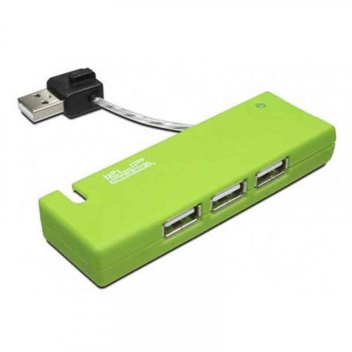 Hub Klip Xtreme de 4 puertos USB