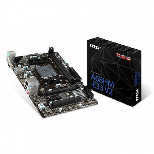 Tarjeta Madre Micro ATX - MSI A68HME33 V2