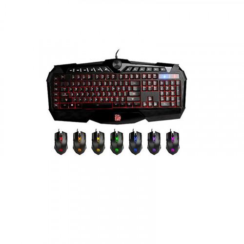 Set de teclado y mouse eSPORT Challenger Prime RGB