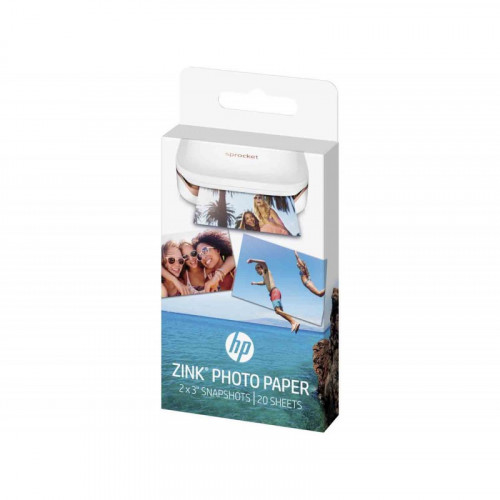 Papel Fotográfico HP ZINK 2X3