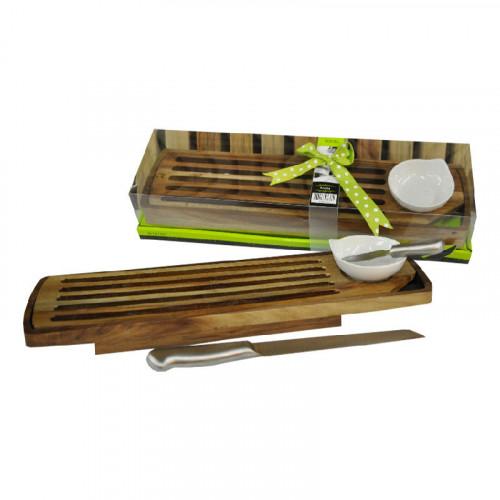 Set cortadora de baguette