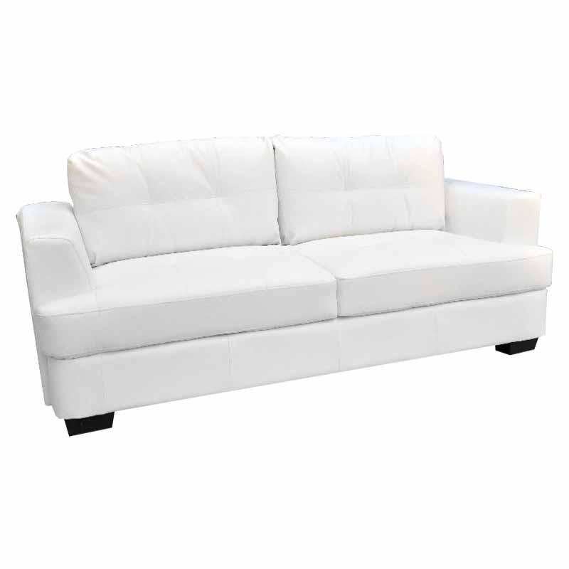 Sofá de Cuerina Chema - Blanco