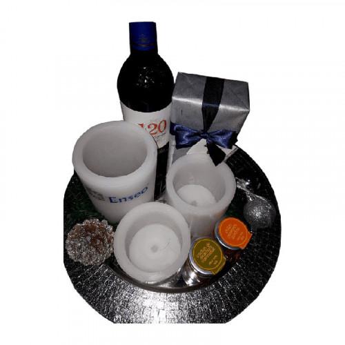 Vino, Chocolate, Conservas y Velas