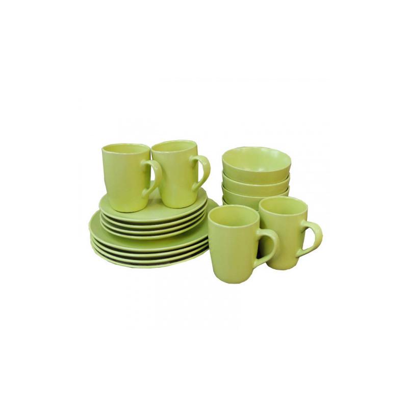 Vajilla cerámica de 16 piezas