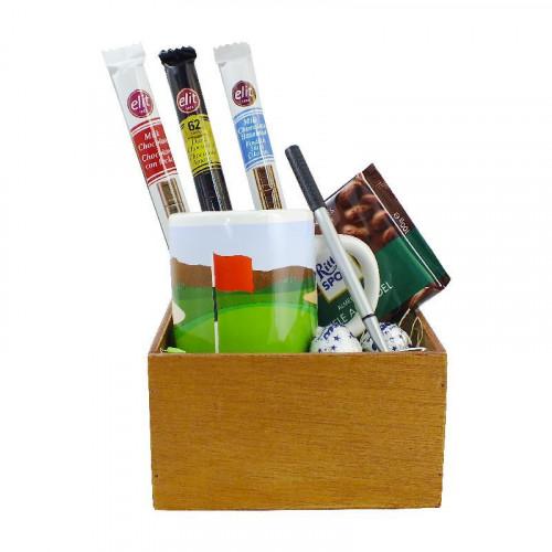 Caja de regalo golf