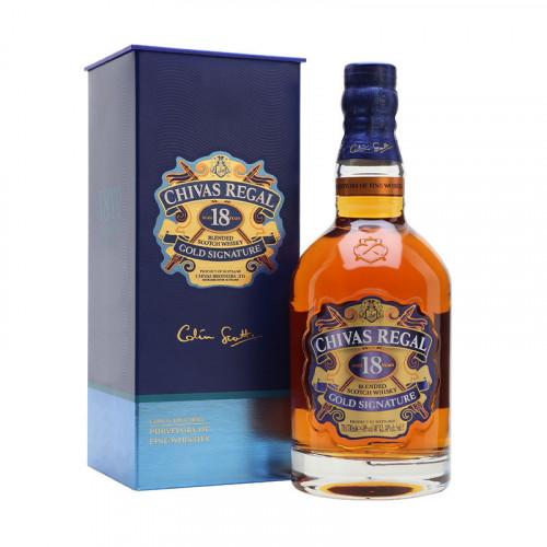 Whisky Chivas Regal 18 Años 750ml