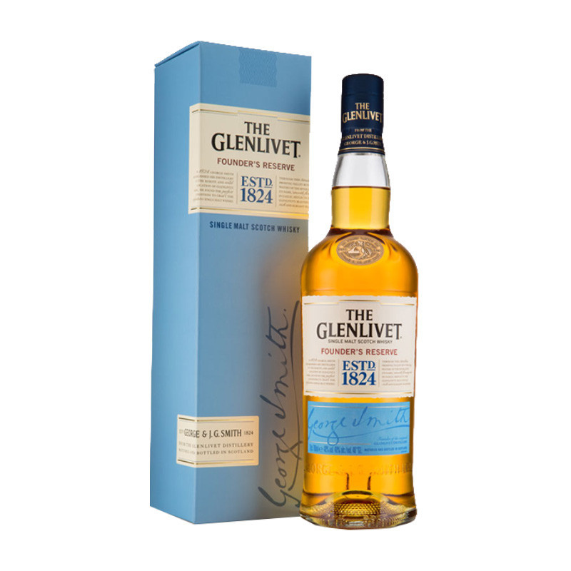 Whisky The Glenlivet Founders Reserve 750ml