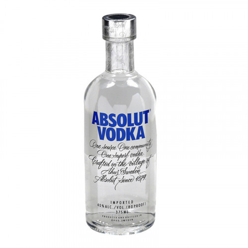 Vodka Absolut 375ml