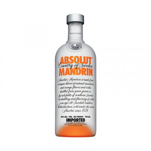 Vodka Absolut Mandarin 750ml