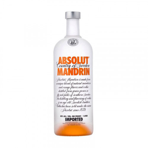 Vodka Absolut Mandarin 1000ml