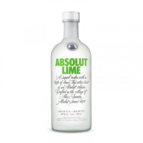 Vodka Absolut Lime 750ml