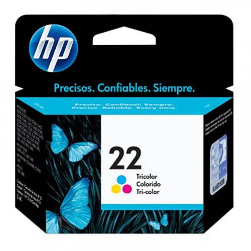 Cartucho de tinta HP C9352al - tricolor 22