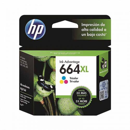Cartucho de tinta Hp - tricolor 664xl