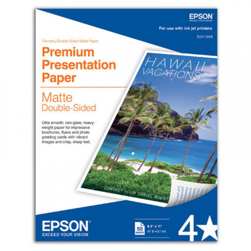 Papel mate blanco brillante Epson