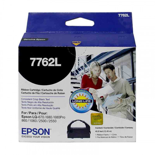 Cinta de impresión Epson 7762l