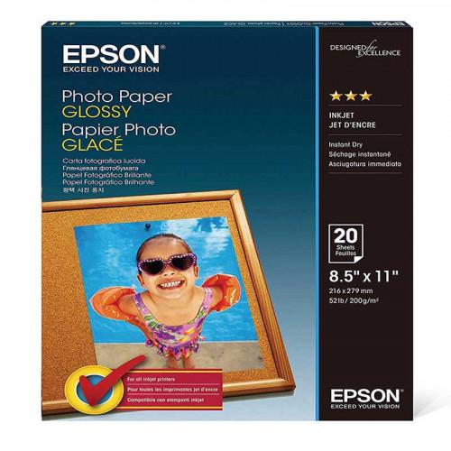 Papel fotográfico brillante Epson para expression home