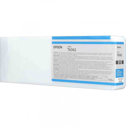 Cartucho de tinta Epson T636200 cián 700 Ml