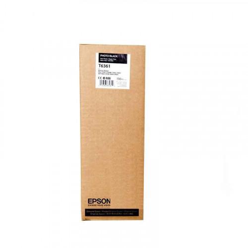 Cartucho de tinta Epson T636100 negro photo 700ml