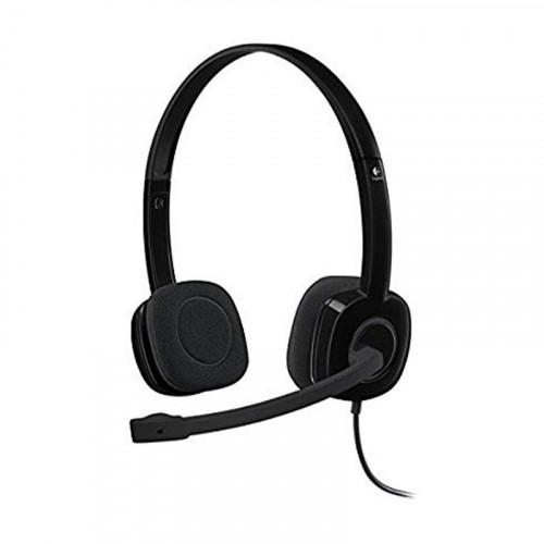 Audífonos con diadema Logitech H151 - negro