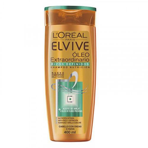 Shampoo óleo extraordinario Elvive - Rizos
