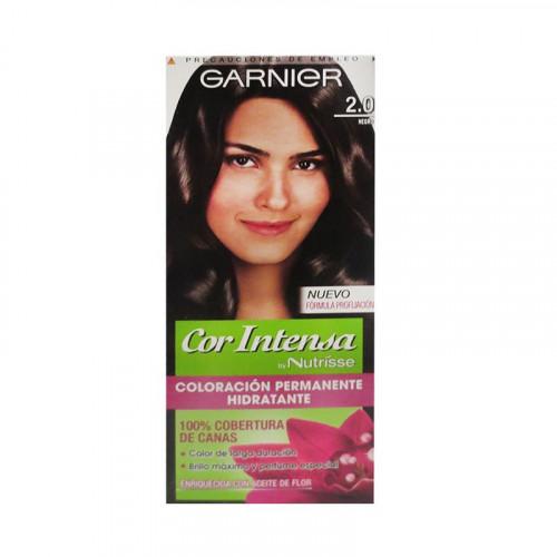 Tinte para el cabello Cor Intensa - Tono Negro 2.0