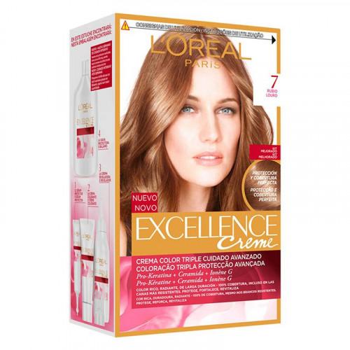 Tinte para el cabello Excellence - Tono creme 7