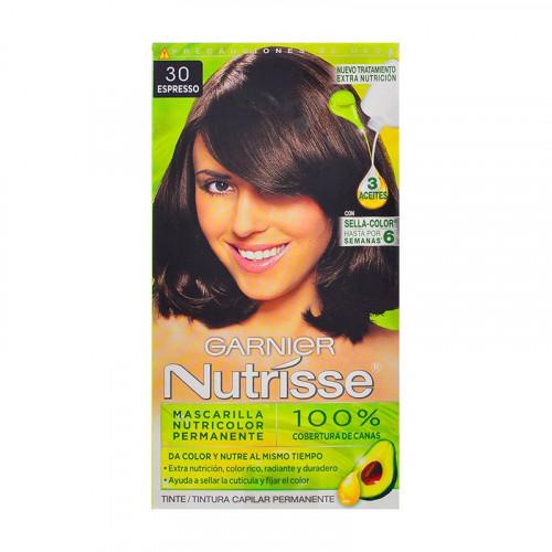 Tinte para el cabello Nutrisse - Tono castaño oscuro espresso 30
