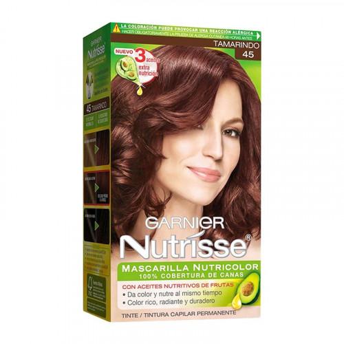 Tinte para el cabello Nutrisse - Tono tamarindo 45