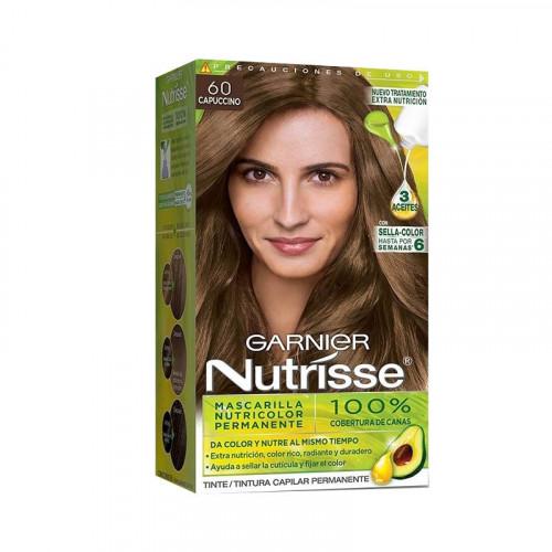 Tinte para el cabello Nutrisse - Tono capuccino 60