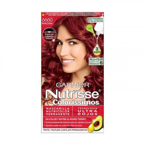 Tinte para el cabello Nutrisse - Tono manzana 6660