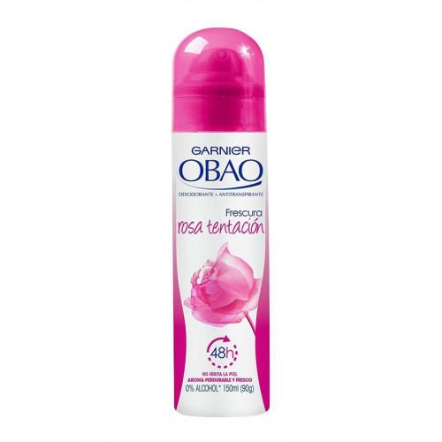 Desodorante en spray Obao - Rosa tentación