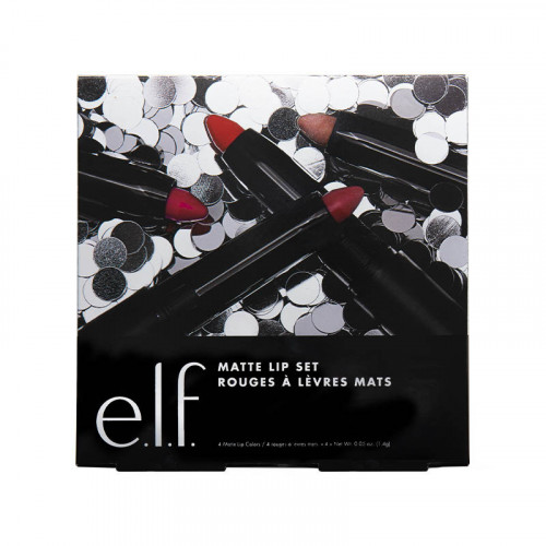 Set de labiales mate jumbo ELF