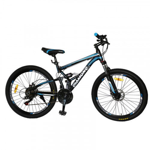 Bicicleta MTB26 Diamond de doble suspención
