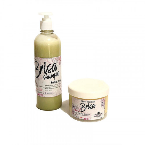 Combo Brisa Shampoo And Mask Treatment
