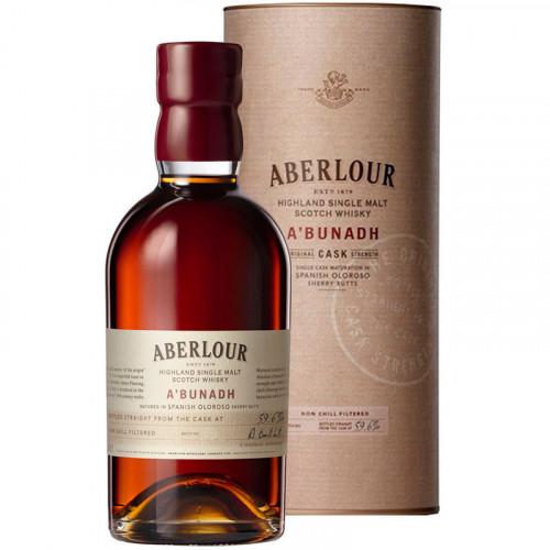 Whisky Aberlour Abunadh 6 Años 750ml