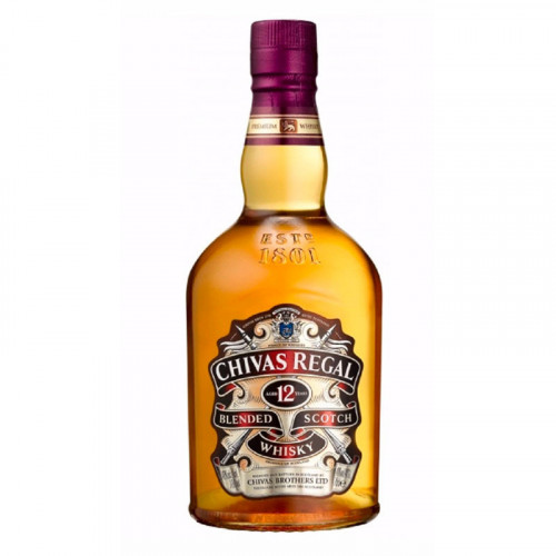 Whisky Chivas Regal 12 Años 1 Litro