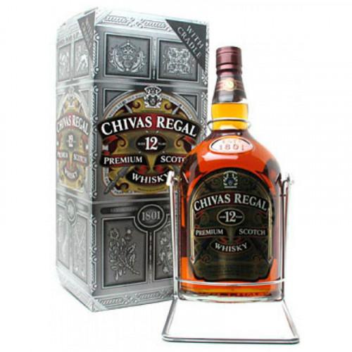 Whisky Chivas Regal 12 Años 4.5 Litros