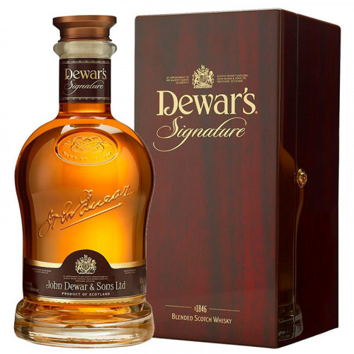 Whisky Dewars Signature 750ml