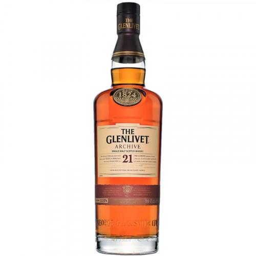 Whisky The Glenlivet 21 Años 700ml