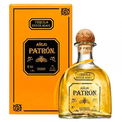 Tequila Patrón Añejo 1.75 Litros