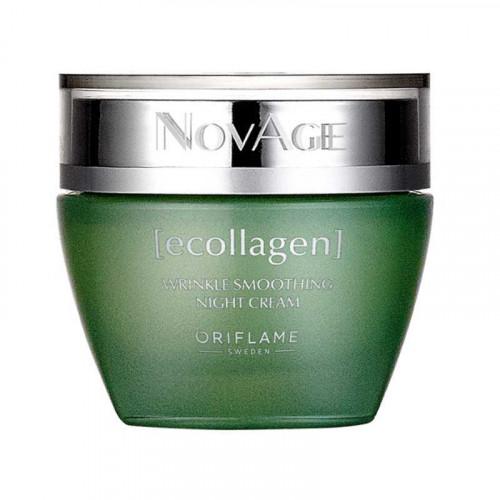 Crema de noche antiarrugas Ecollagen NovAge