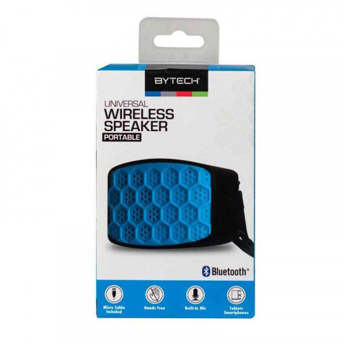 Mini bocinas bluetooth - celeste