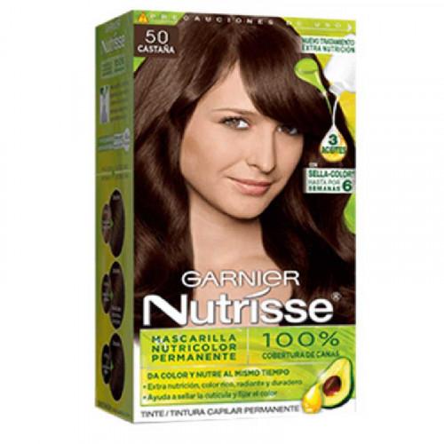 Tinte para el cabello Nutrisse - Tono castaña 50