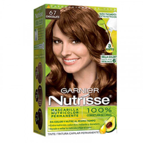 Tinte para el cabello Nutrisse - Tono Chocolate Regular 67