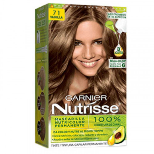 Tinte para el cabello Nutrisse - Tono Vainilla Regular 71
