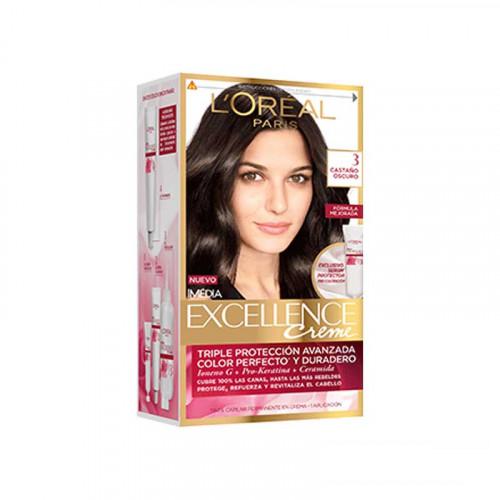 Tinte para el cabello con Pro Keratin Excellence - Tono 3