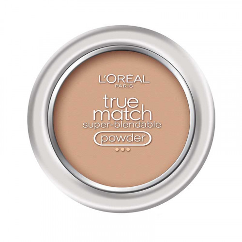 Polvo Facial Beige True Match W4